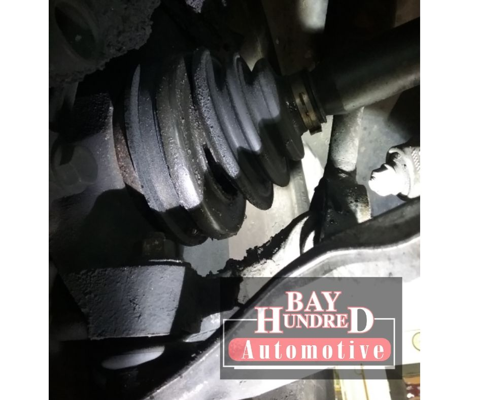 8-8-2019- leaking axle